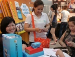 2012年5月一滴水品牌精油参展哈尔滨美博会